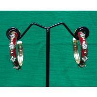 Beautiful American Diamond Earrings-EG061