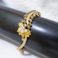 Antique finish american diamond bracelet for women - BL034