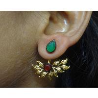 Simple and beautiful Earring-KEG104