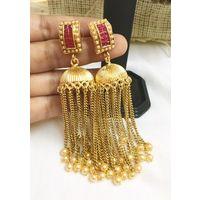 Long dangler earrings for women - KEG131
