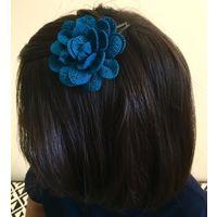 Kids Hairclip in flower design-KC050