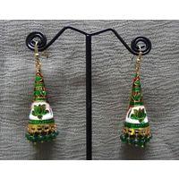 Meenakari earrings-ME082