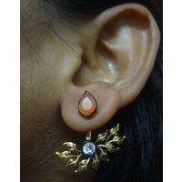 Simple and beautiful Earring-KEG105