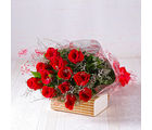 Giftacrossindia Bouquet of Dozen Red Roses (GAIMPHD0001)