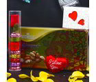 Giftacrossindia Vochellee Almonds And Wimmy Chocolate Heart Shape Combo (GAICOUVAL2019111)