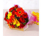Giftacrossindia Bouquet of Red Roses and Gerberas (GAIMPHD0082)