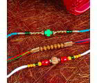 Giftacrossindia Decorated Rakhi Combo