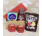 Giftacrossindia M&M Chocolate Diwali Hamper