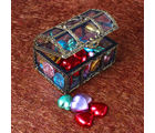 Giftacrossindia Heart Shaped Chocolate in a Treasure Box (GAICOU0003)