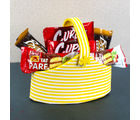 Giftacrossindia Imported Bar Cakes of Chocolate flavour Bucket (GAICOU0045)