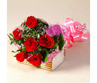 Giftacrossindia Six Red Roses Love You Bouquet (GAIMPHD0061)