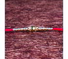 Giftacrossindia Golden Beads Rakhi