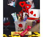 Giftacrossindia Imported Assorted Chocolates Love Hamper (GAICOUVAL2019112)