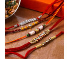 Giftacrossindia Diamond Rakhi Combo