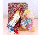 Giftacrossindia Rakhi With Sweetness Of Chocolates