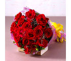 Giftacrossindia Bouquet of 18 Red Roses (GAIMPHD0076)