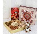 Giftacrossindia Amazing Dry Fruit Diwali Gift