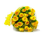 Giftacrossindia Bouquet of Twenty Yellow Roses (GAIMPHD0007)
