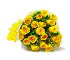 Giftacrossindia Bouquet of Twenty Yellow Roses (GAIMPHD0007)