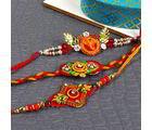 Giftacrossindia Artistic Rakhi Combo