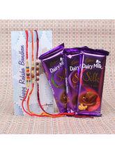Giftacrossindia Cadbury Dairy Milk Silk Chocolates...