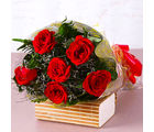 Giftacrossindia Six Red Roses Bouquet (GAIMPHD0075)