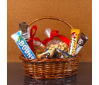 Giftacrossindia Imported Chocolates with Dry Fruit Basket (GAICOU0049)
