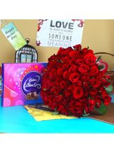 Giftacrossindia Special Mothers Day With Red Roses...