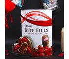 Giftacrossindia Sizmic Bite Strawberry And Wimmy Heart Shape Chocolate Combo (GAICOUVAL2019103)
