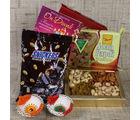 Giftacrossindia Chocolate And Dryfruit With Sweet Hamper