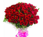 Giftacrossindia 100 Red Roses Bouquet (GAIMPHD0572)