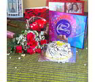 Giftacrossindia Forever Love Gift Hamper (GAIVALHD20190308)