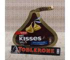 Giftacrossindia Kisses Chocolate With Toblerone Chocolate (GAICOU0679V)