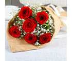 Giftacrossindia Exclusive Romantic Red Roses Bouquet (GAIMPHD0038)