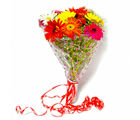 Giftacrossindia Ten Colorful Gerberas Bouquet (GAIMPHD0058)