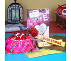 Giftacrossindia Strawberry Cake With Toblerone Chocolate And Love Card (GAIVALHD20190266)