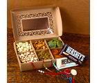 Giftacrossindia Hershey'S Chocolates With Dry Fruits And Rakhi