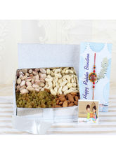 Giftacrossindia Assorted Dry Fruits Box With Desig...