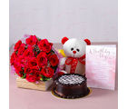 Giftacrossindia Romantic Birthday Combo (GAIMPHD0498)