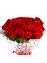 Giftacrossindia Bouquet of 50 Red Roses (GAIMPHD0522)