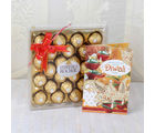 Giftacrossindia Ferrero Rocher Chocolate Gift Pack With Diwali Card