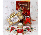 Giftacrossindia Shubh Labh And Chocolate Hamper
