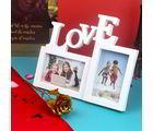 Giftacrossindia Dual Love Frame With Golden Rose For Mummy (GAICORMOT2017067)