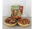 Giftacrossindia Fig And Almond Diwali Gift