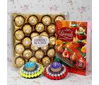 Giftacrossindia Ferrero Rocher Diwali Hamper