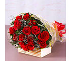 Giftacrossindia Fifteen Red Roses Bouquet (GAIMPHD0074)