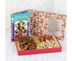 Giftacrossindia Diwali Greeting And Healthy Dry Fruits