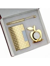 Giftacrossindia Pen and Keychain With Card Holder in Gold Plated (GAICOU0199)