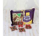 Giftacrossindia Chocolate Soan Papdi With Diwali Accessories