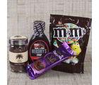 Giftacrossindia Chocolate Syrup With Chocolate Hamper (GAICOU0681V)